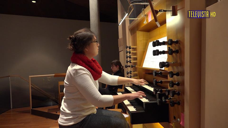 Vorschaubild für Neue Organistin St Antonius – Tatiana Baumann