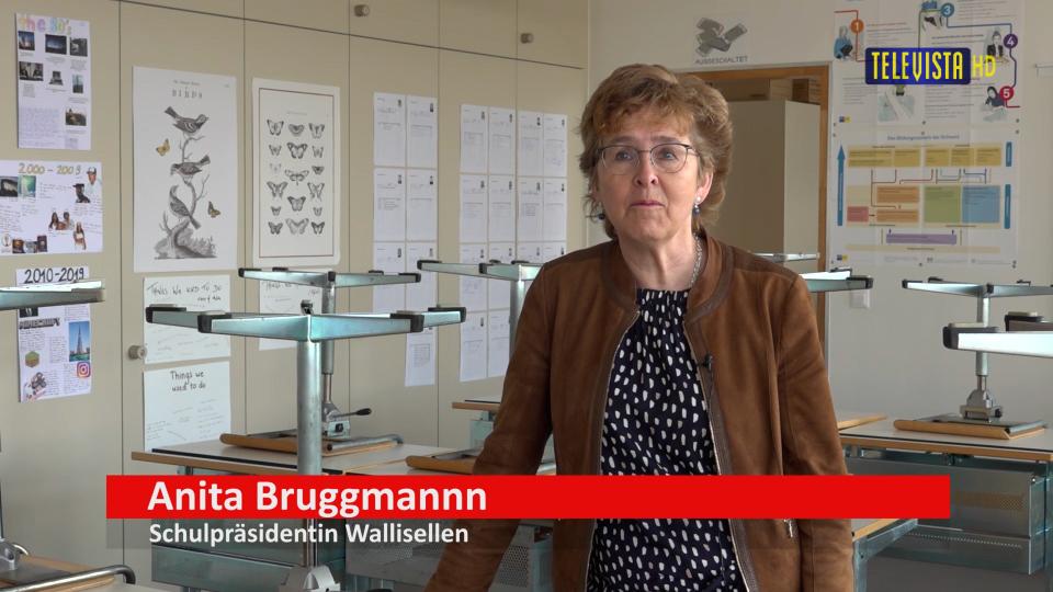 Vorschaubild für Quote Anita Bruggmann – Schulpräsidentin