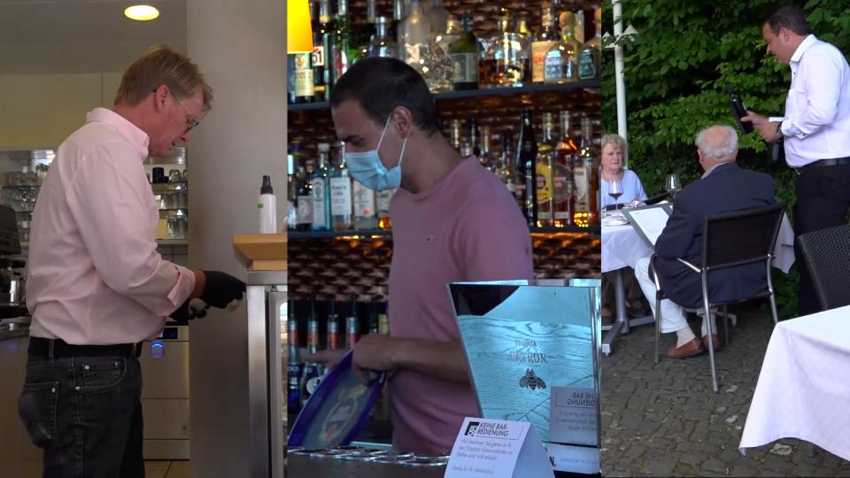 Vorschaubild für Öffnung Bars und Restaurants