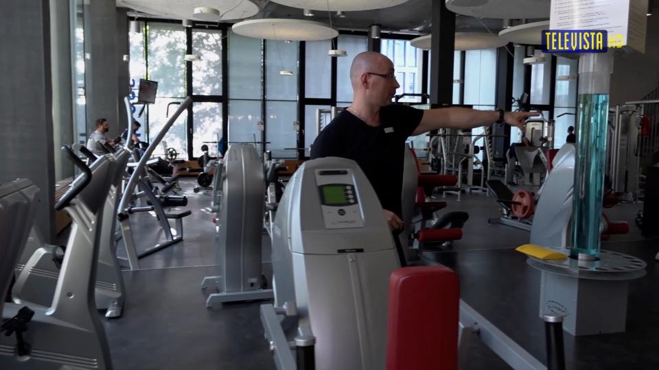 Vorschaubild für Senioren im Fitnesscenter