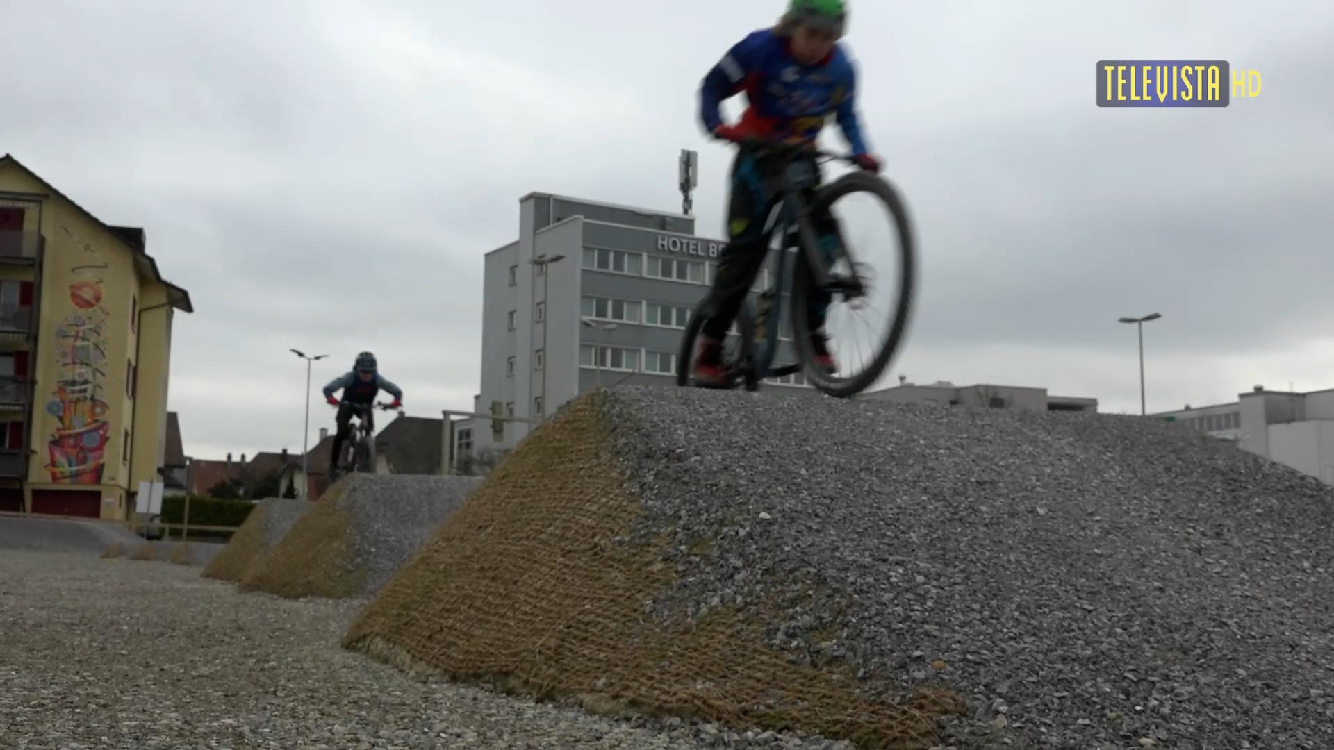 Vorschaubild für Eröffnung Bikepark Halbaareal