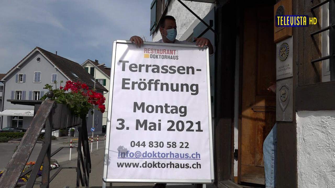Vorschaubild für Wiedereröffnung Restaurants
