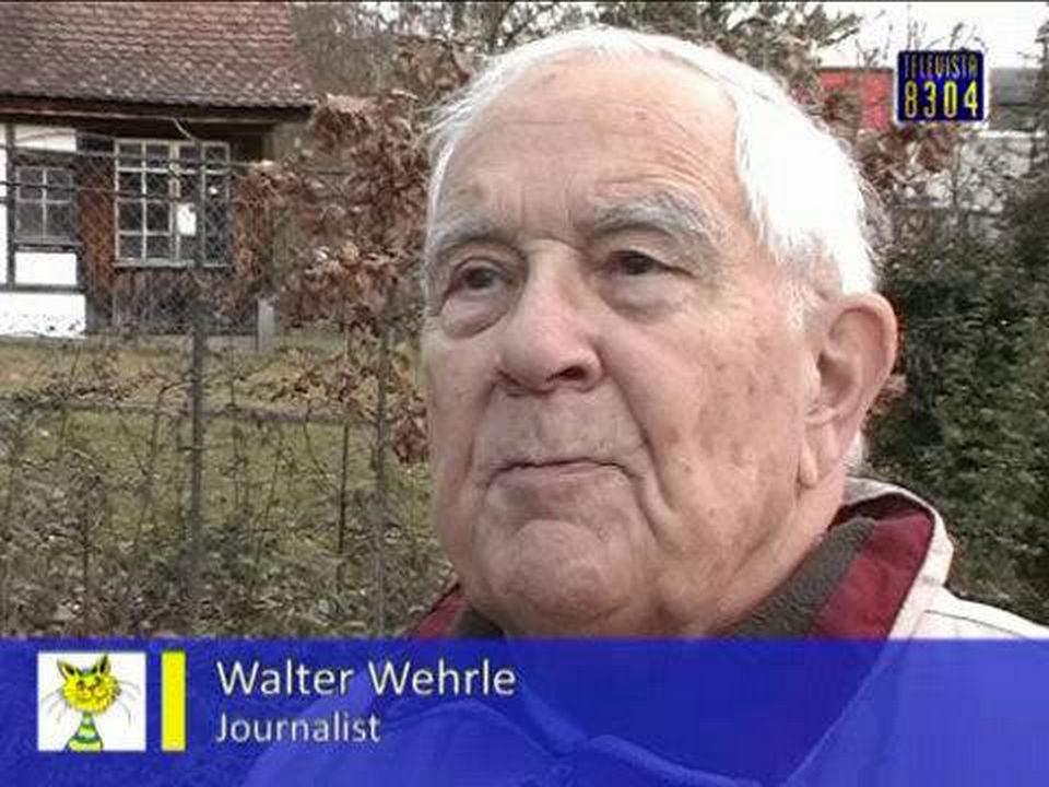 Vorschaubild für Walter Wehrle Autor Neujahrsblatt