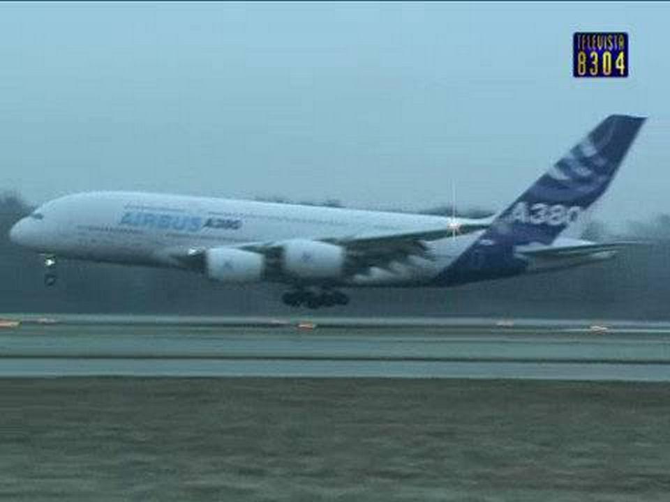 Vorschaubild für Airbus A380 in Kloten