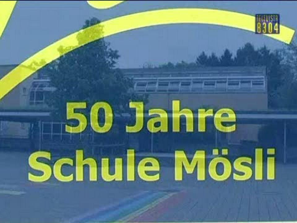 Vorschaubild für Vorschau auf das Fest 50 Jahre Schulhaus Moesli