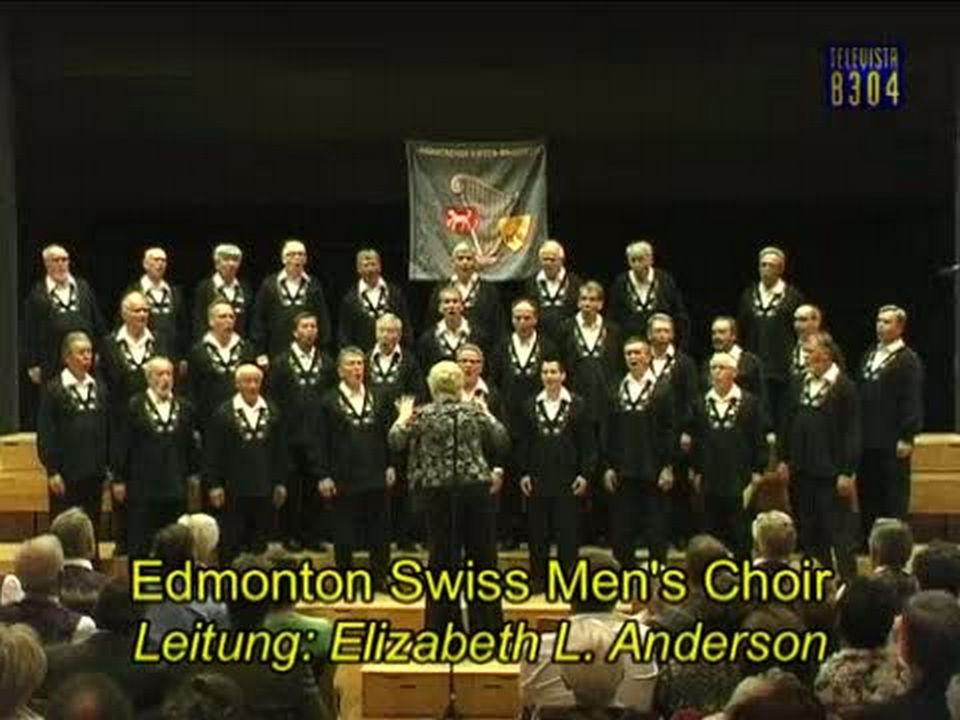 Vorschaubild für Konzert-Matinee Männerchor Rieden mit dem Edmonton Chor