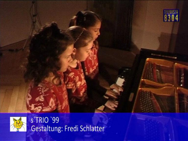 Vorschaubild für Schlussmoderation und Abspann mit Trio 99