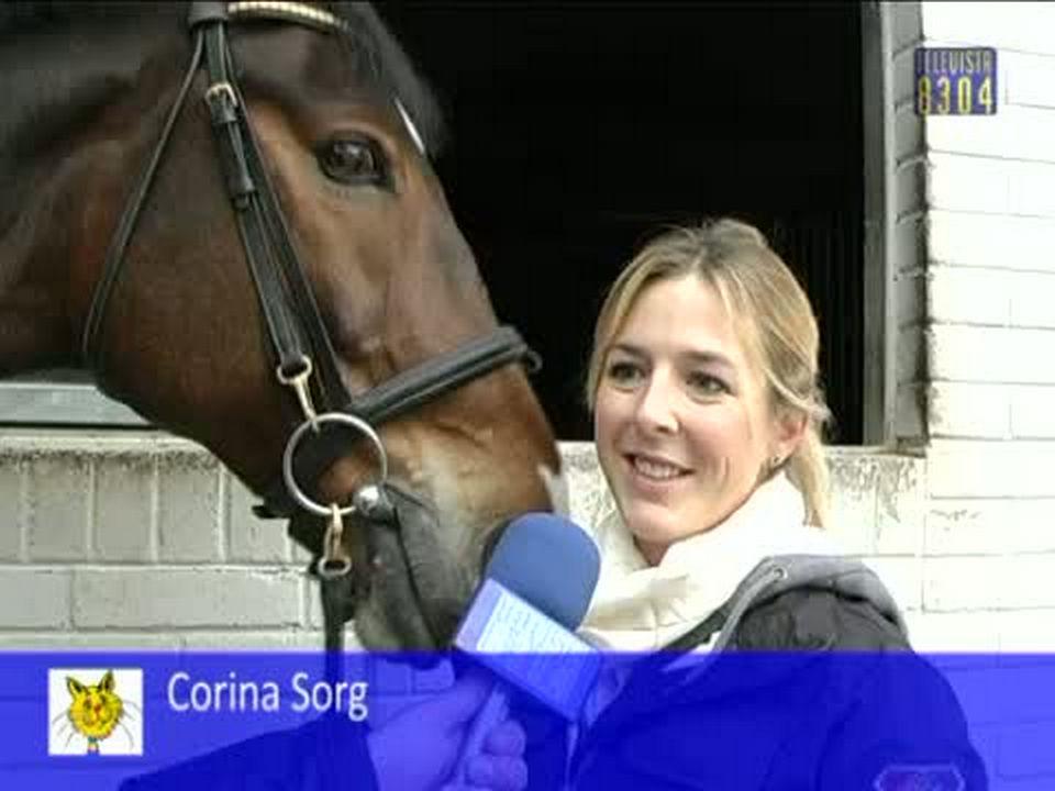 Vorschaubild für Erfolg der jungen Reiterin Corina Sorg