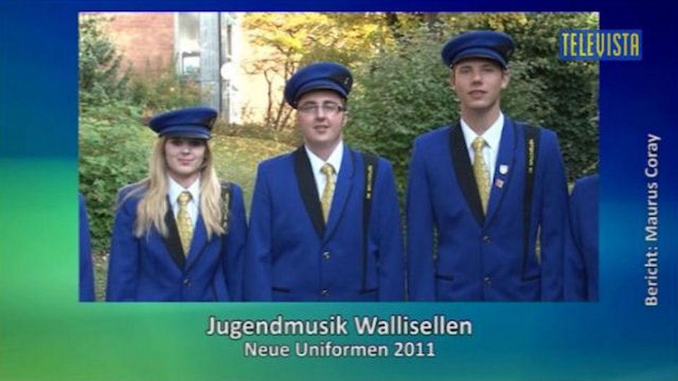 Vorschaubild für Neue Uniformen für die Jugendmusik Wallisellen