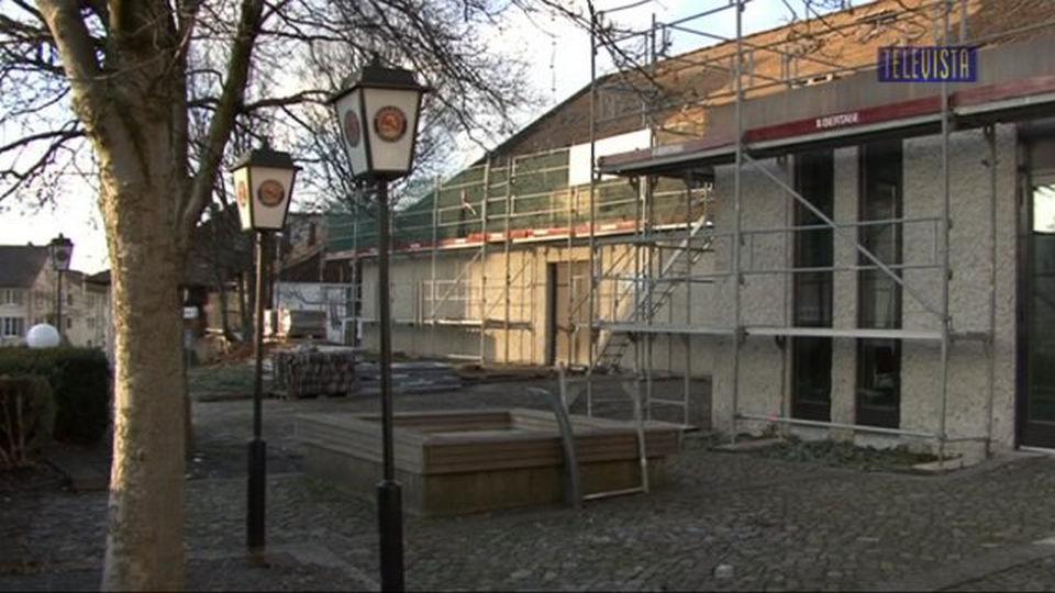 Vorschaubild für Umbau des Gemeindesaals
