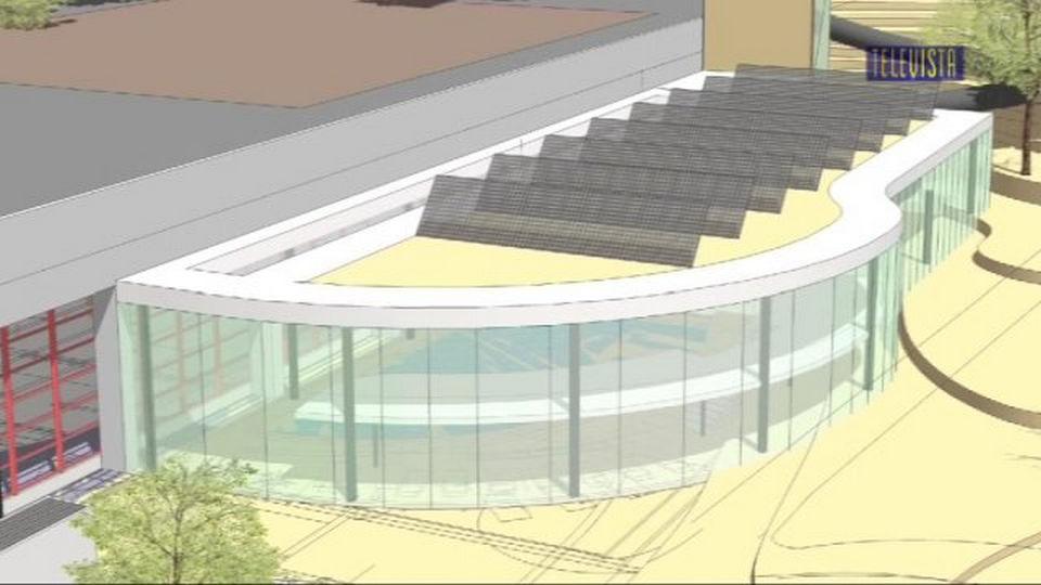 Vorschaubild für Sanierung und Erweiterung des Hallenbades