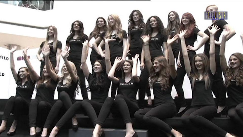 Vorschaubild für Miss Schweiz Kandidatinnen im Glattzentrum