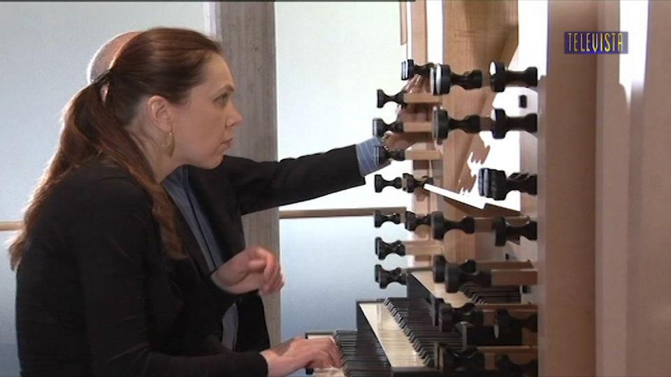 Vorschaubild für Musikalischer Schlusspunkt mit Katja Sager an der Orgel