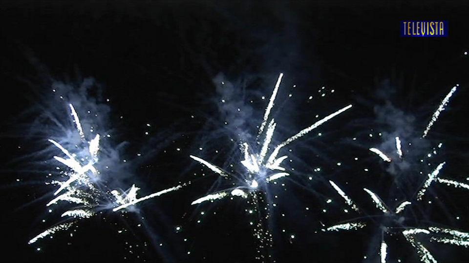 Vorschaubild für Erster August Feuerwerk 2013