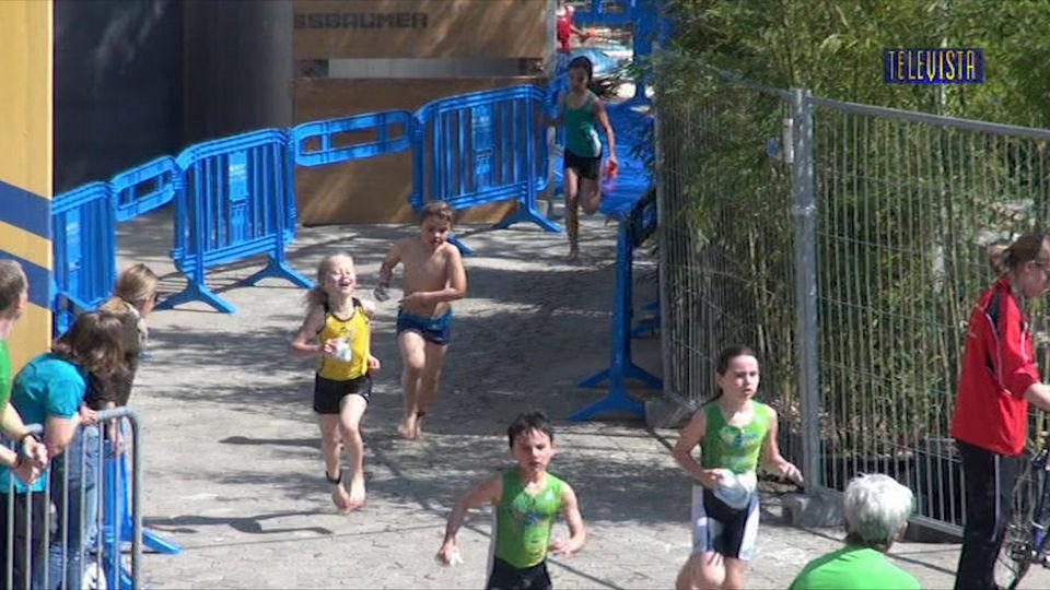 Vorschaubild für Abspann mit Bilder vom Jugend Triathlon