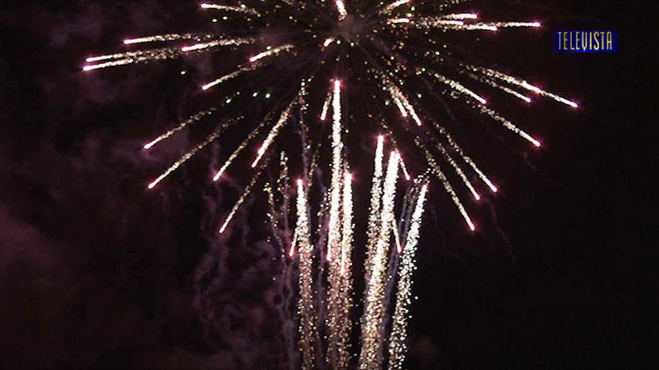 Vorschaubild für Abspann mit Bilder vom Ersten August Feuerwerk auf dem Tambel
