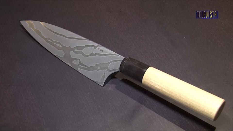 Vorschaubild für Messerausstellung im Restaurant SAHAR