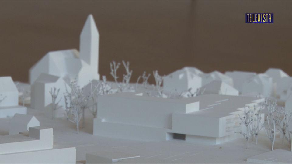 Vorschaubild für Architektur Studienauftrag Neubau Ref Kirchgemeindehaus