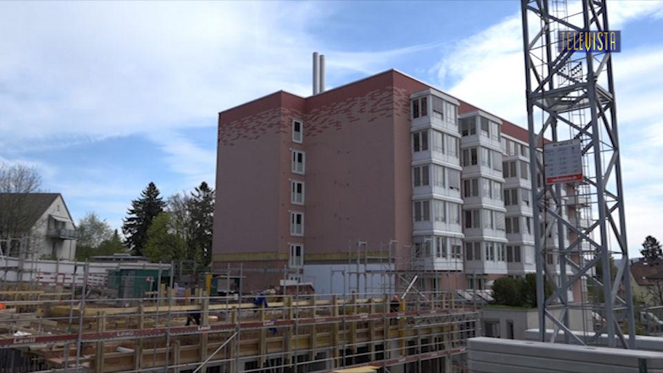 Vorschaubild für Alterszentrum Neubau – Baufortschritt