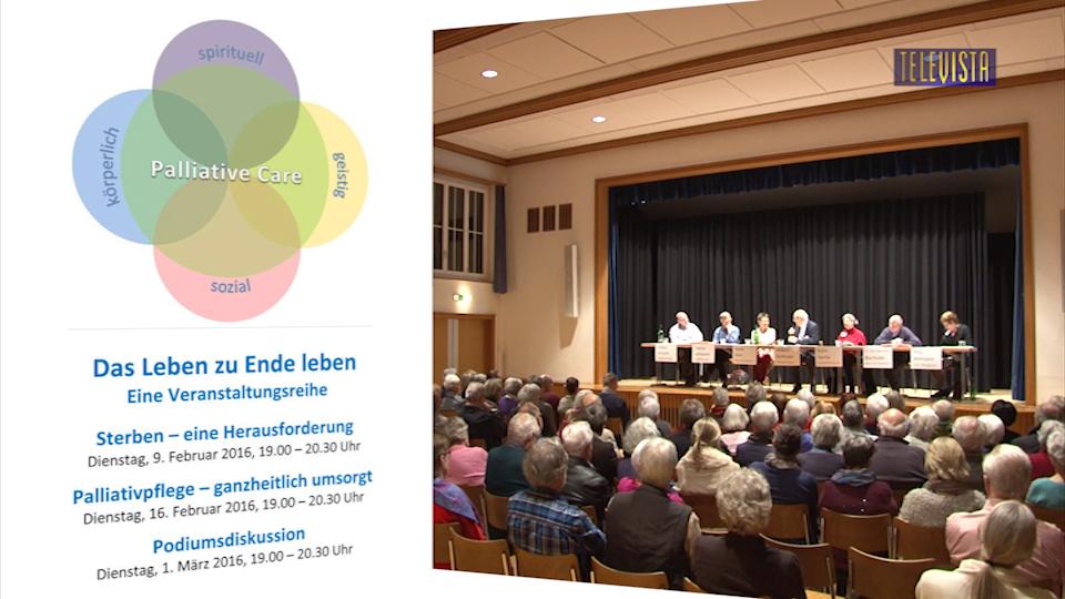 Vorschaubild für Palliative Care – Podiumsdiskussion