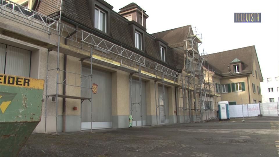 Vorschaubild für Baubeginn Kulturbistro im Feuerwehrgebäude