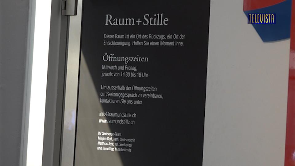 Vorschaubild für Eröffnung Raum Plus Stille Glattzentrum