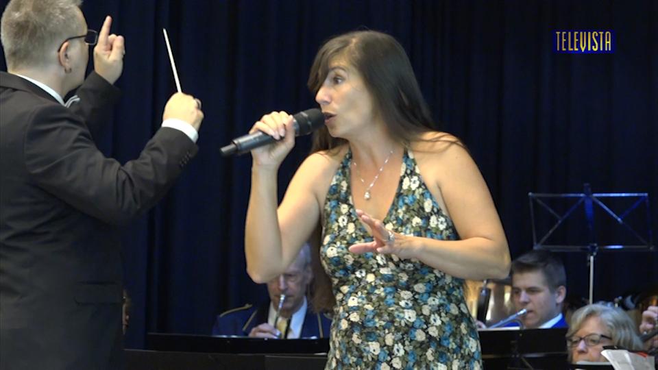 Vorschaubild für Musikverein Eintracht – Erstmals mit Sängerin
