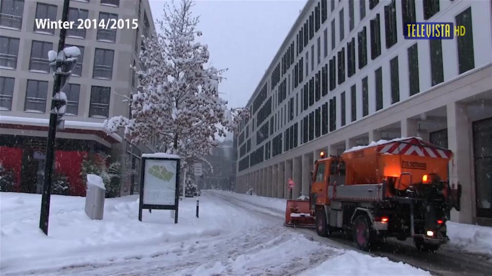 Vorschaubild für Schneeräumung