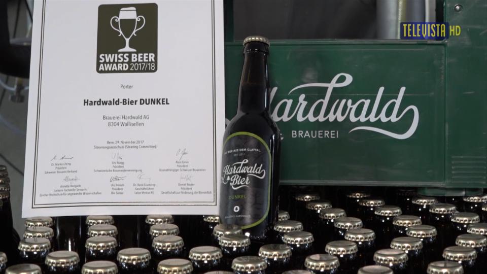 Vorschaubild für Hardwald Bier gewinnt die Goldmedaille