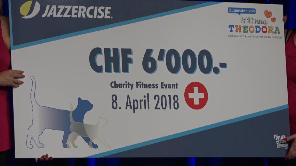 Vorschaubild für Jazzercise Charity Event